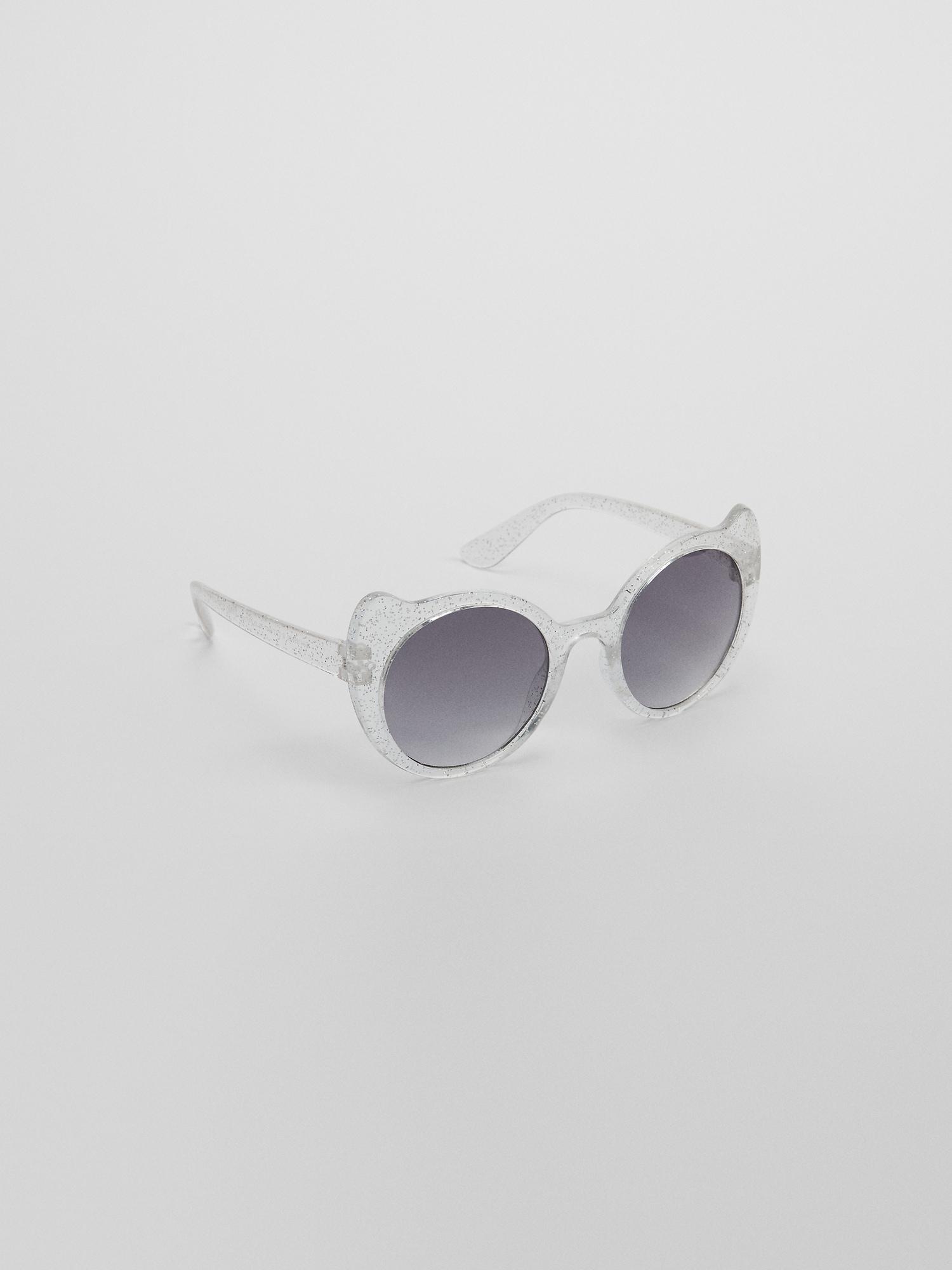5f99cab55 Kids Glitter Cat Eye Sunglasses | Gap