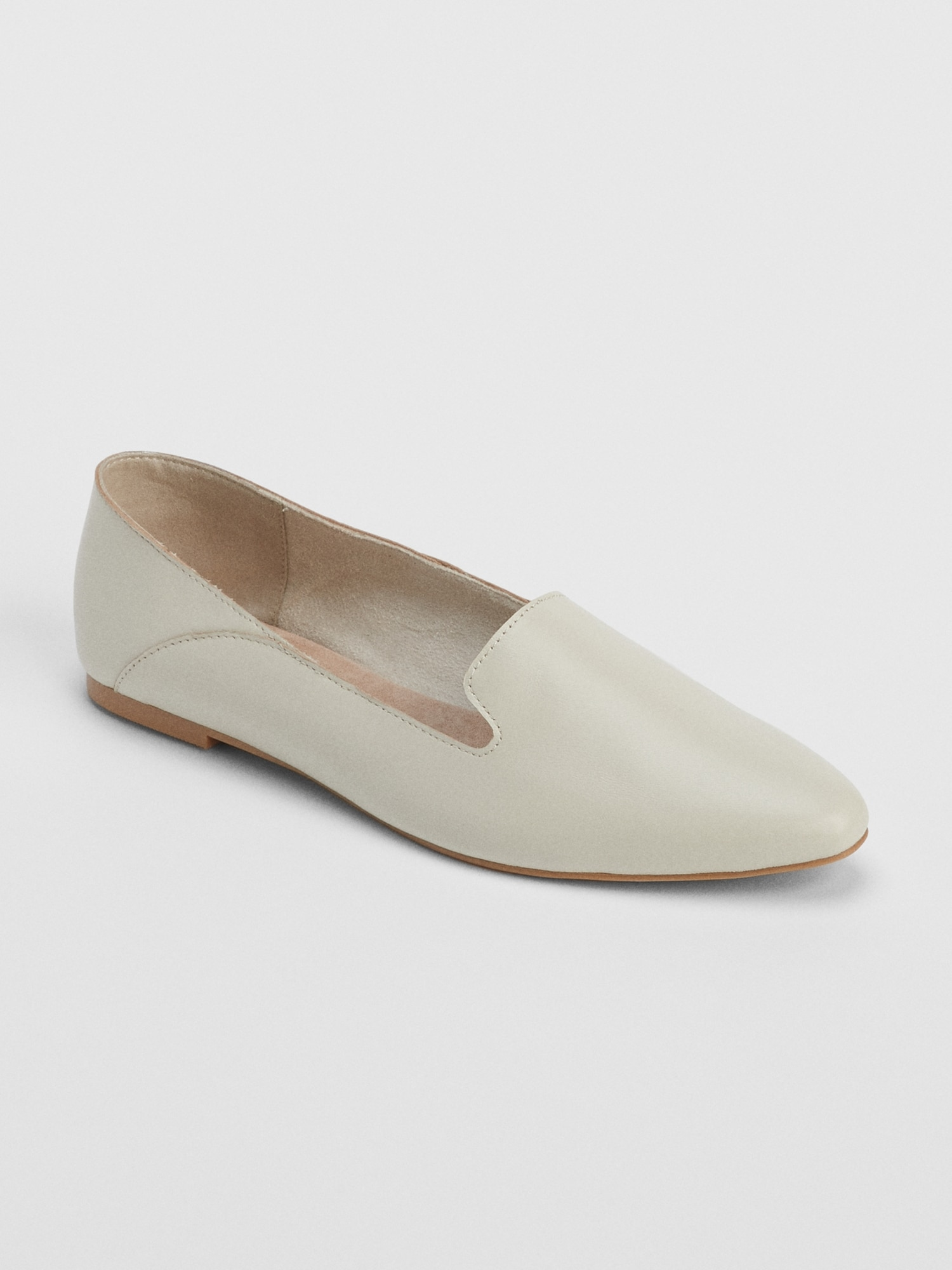 c1da4e114d7 Leather Pointed Loafers   Gap