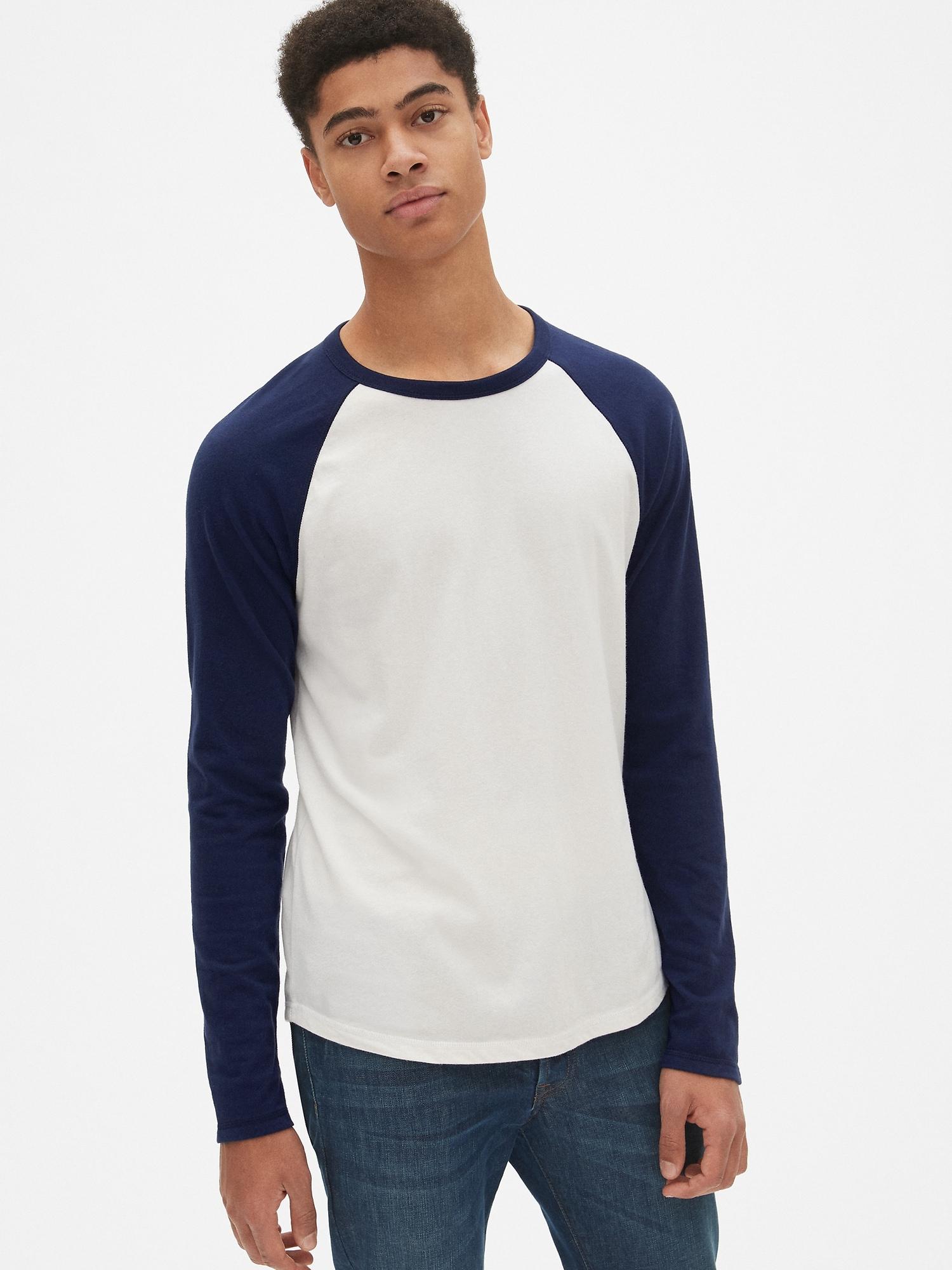 a5244be4767 Soft Brushed Raglan Crewneck T-Shirt