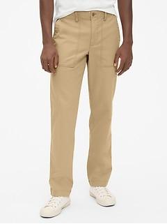 Pantalon militaire droit avec GapFlex