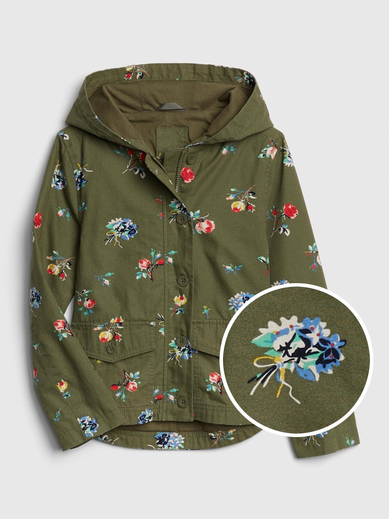 a9ed286c Kids Print Hoodie Shirt Jacket | Gap