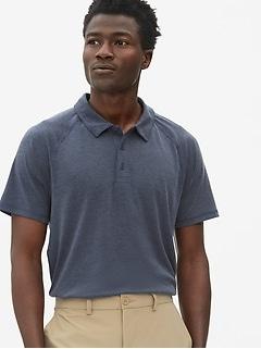 GapFit Breathe Pique Polo Shirt