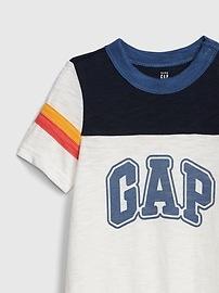 8a9662d13fd1 Baby Gap Logo Shorty One-Piece | Gap
