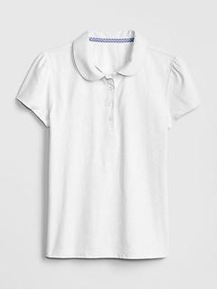 Polo d'uniforme à manches courtes (enfant)