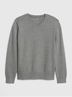 Kids Uniform V-Neck Sweater