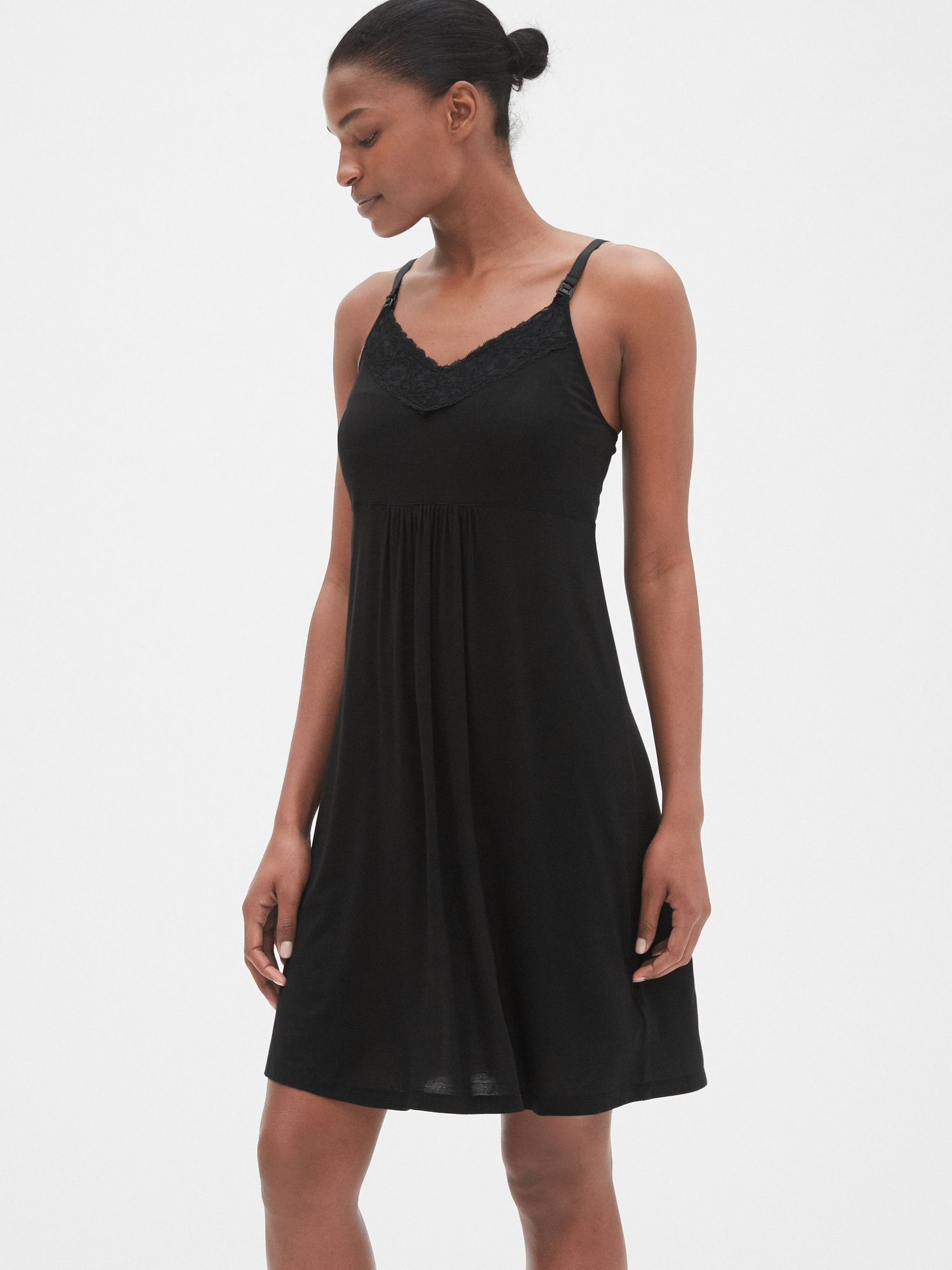 50de812d6b885 Maternity Nursing Nightgown | Gap