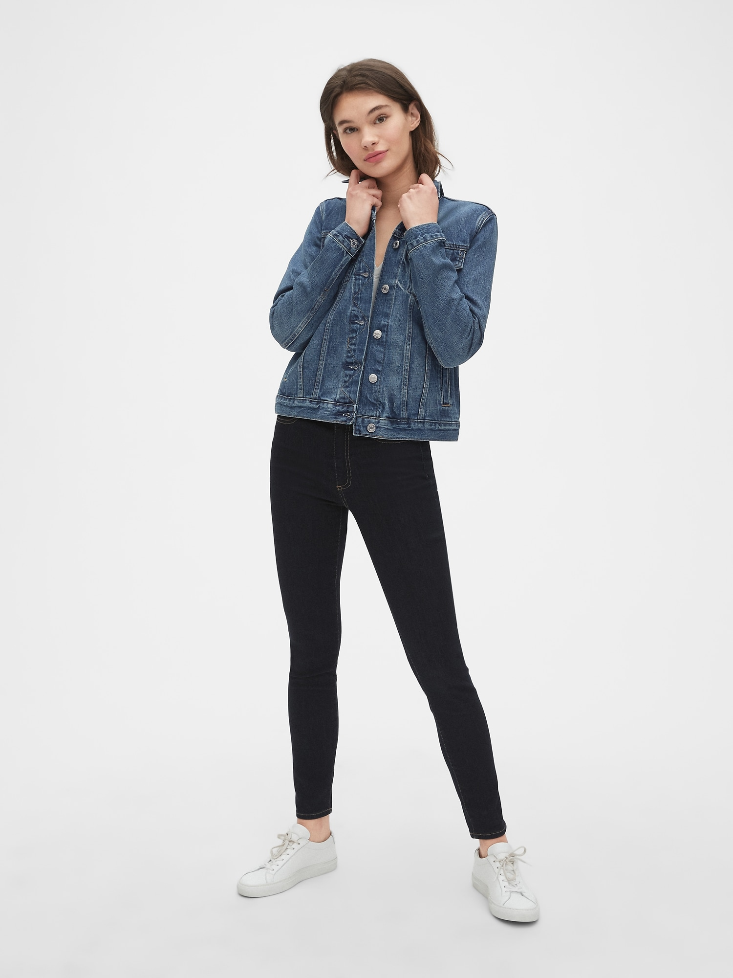 hot new products super popular many styles Icon Denim Jacket | Gap