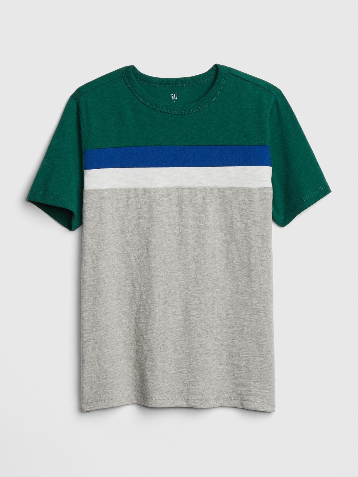aa67c51433fd Kids Colorblock Short Sleeve T-Shirt | Gap