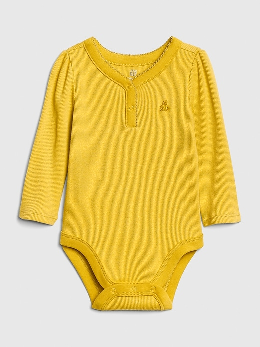 Baby Brannan Bear Henley Bodysuit by Gap