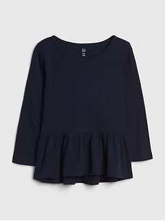 Toddler Peplum Tunic
