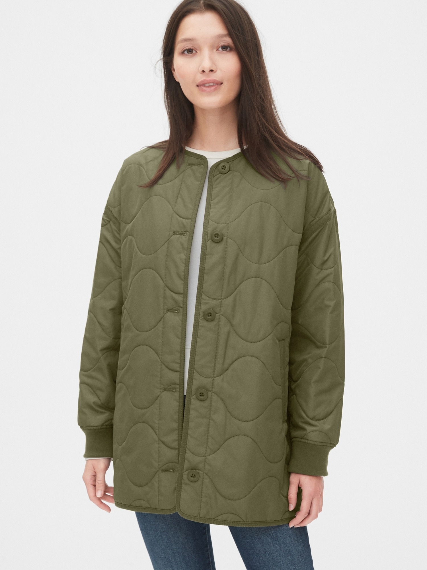 Quilted Liner Jacket by Gap