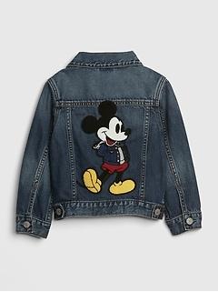 babyGap | Disney Mickey Mouse Icon Denim Jacket with Washwell™