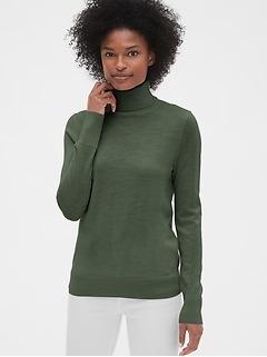 Turtleneck Sweater in Merino Wool