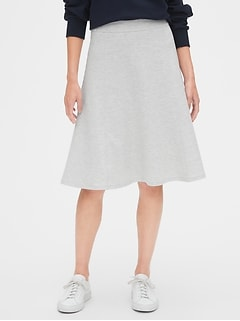 A-Line Skirt in Ponte