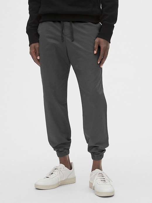 Slim Twill Joggers With Gap Flex by Gap