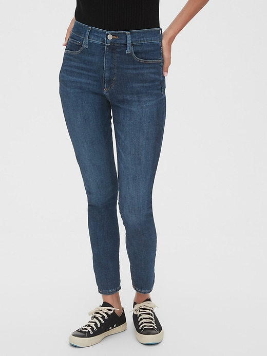 High Rise Favorite Jeggings With Secret Smoothing Pockets by Gap