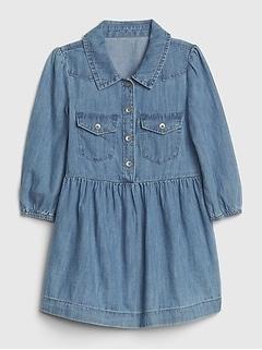 Toddler Denim Western Dress