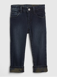 Toddler Straight Jeans with Stretch