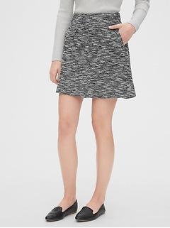 Boucle Mini Skirt