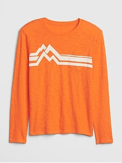 Kids Chest-stripe Pocket T-Shirt