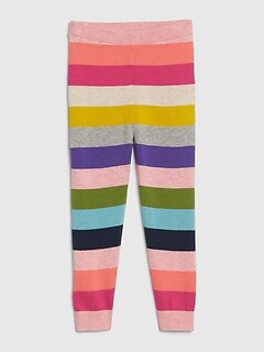 Toddler Crazy Stripe Sweater Leggings