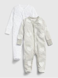 Cache-couche à imprimé pour bébé (paquet de2)