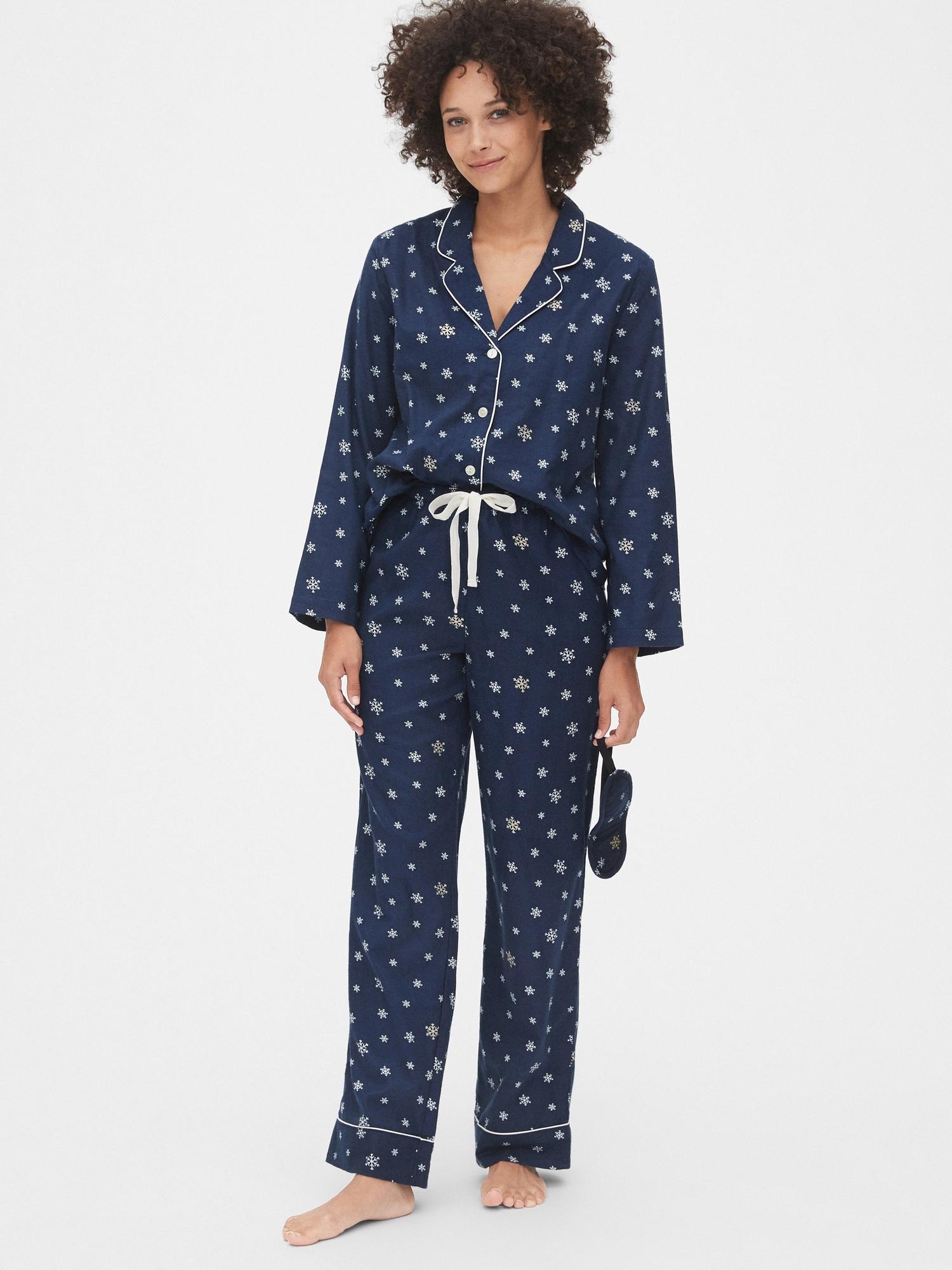 Flannel Pajama Set by Gap