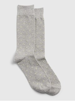 Pattern Crew Socks