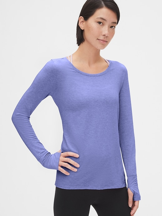 Gap Fit Breathe Tie Back T Shirt by Gap