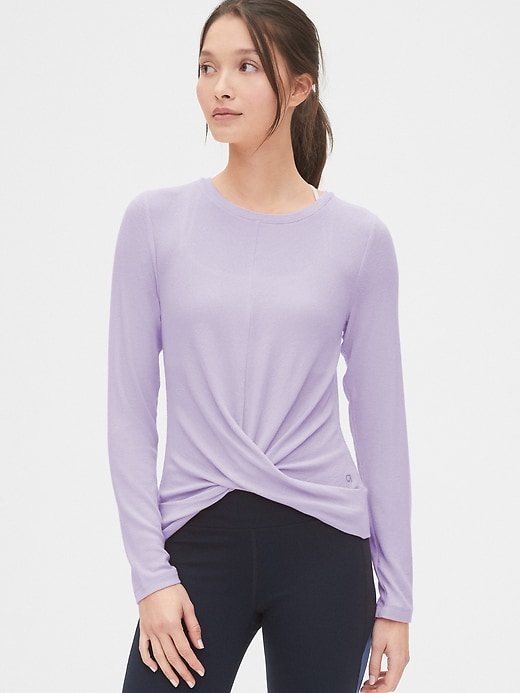 Gap Fit Twist Front Top by Gap