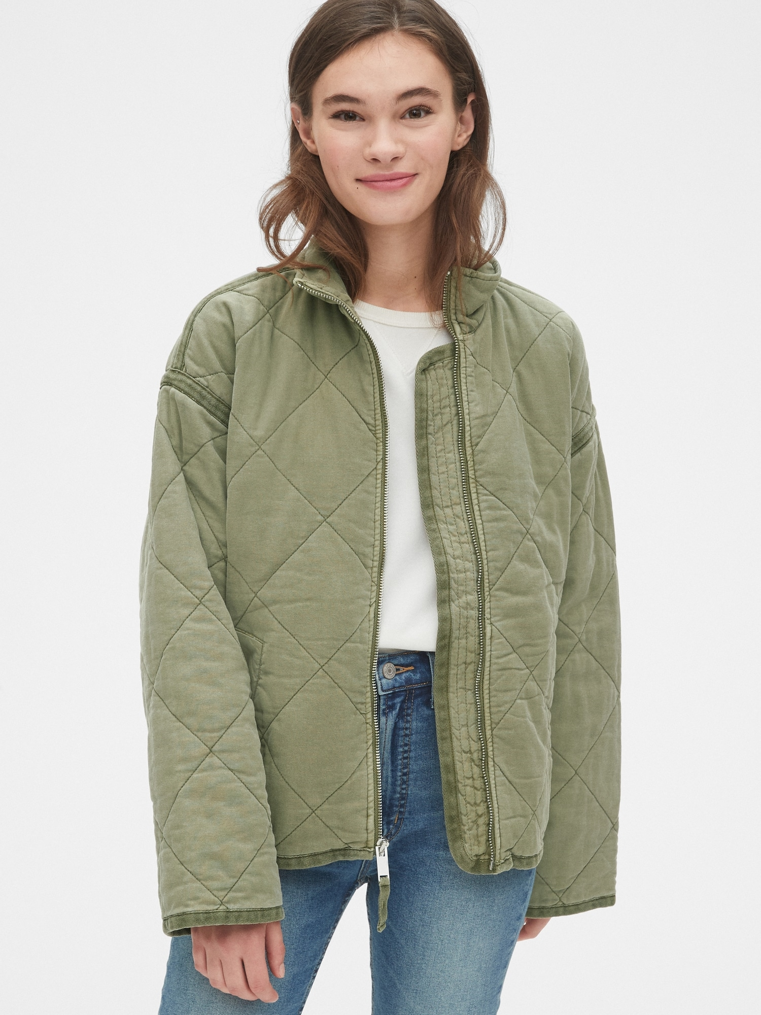 Quilted Jacket by Gap