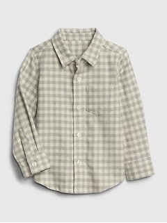 Toddler Gingham Shirt