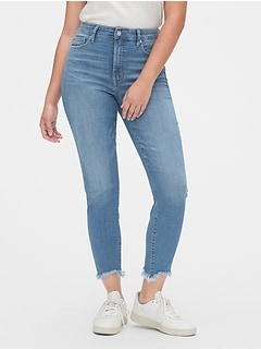High Rise Curvy True Skinny Ankle Jeans with Secret Smoothing Pockets