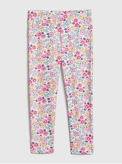 Toddler Floral Leggings
