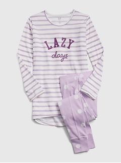 Kids Lazy Days PJ Set