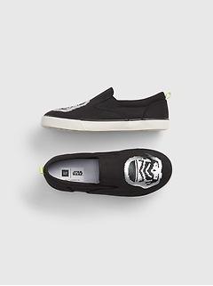 GapKids | Star Wars™ Flippy Sequin Slip-On Sneakers