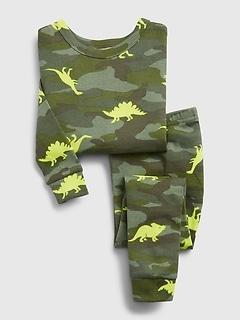 Pyjama babyGap à motif de dinosaure et imprimé camouflage