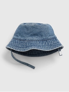 Baby Denim Bucket Hat