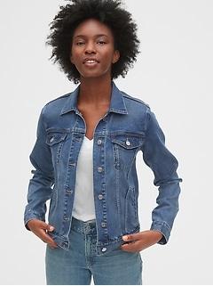 Veste emblématique en denim Soft Wear