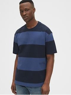 Easy Heavyweight Stripe T-Shirt