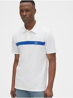 Chemise polo à logo Gap