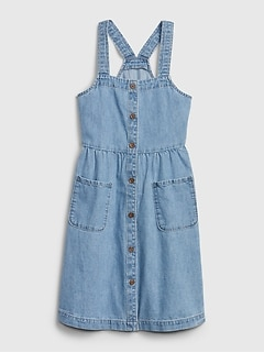 Kids Denim Pocket Dress