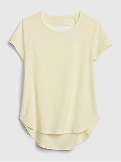 GapFit Kids Keyhole T-Shirt
