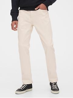 Garment-Dye Slim Jeans