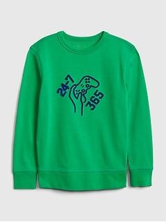 Kids Gamer Graphic Sweatshirt