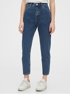 Sky High Rise Mom Jeans
