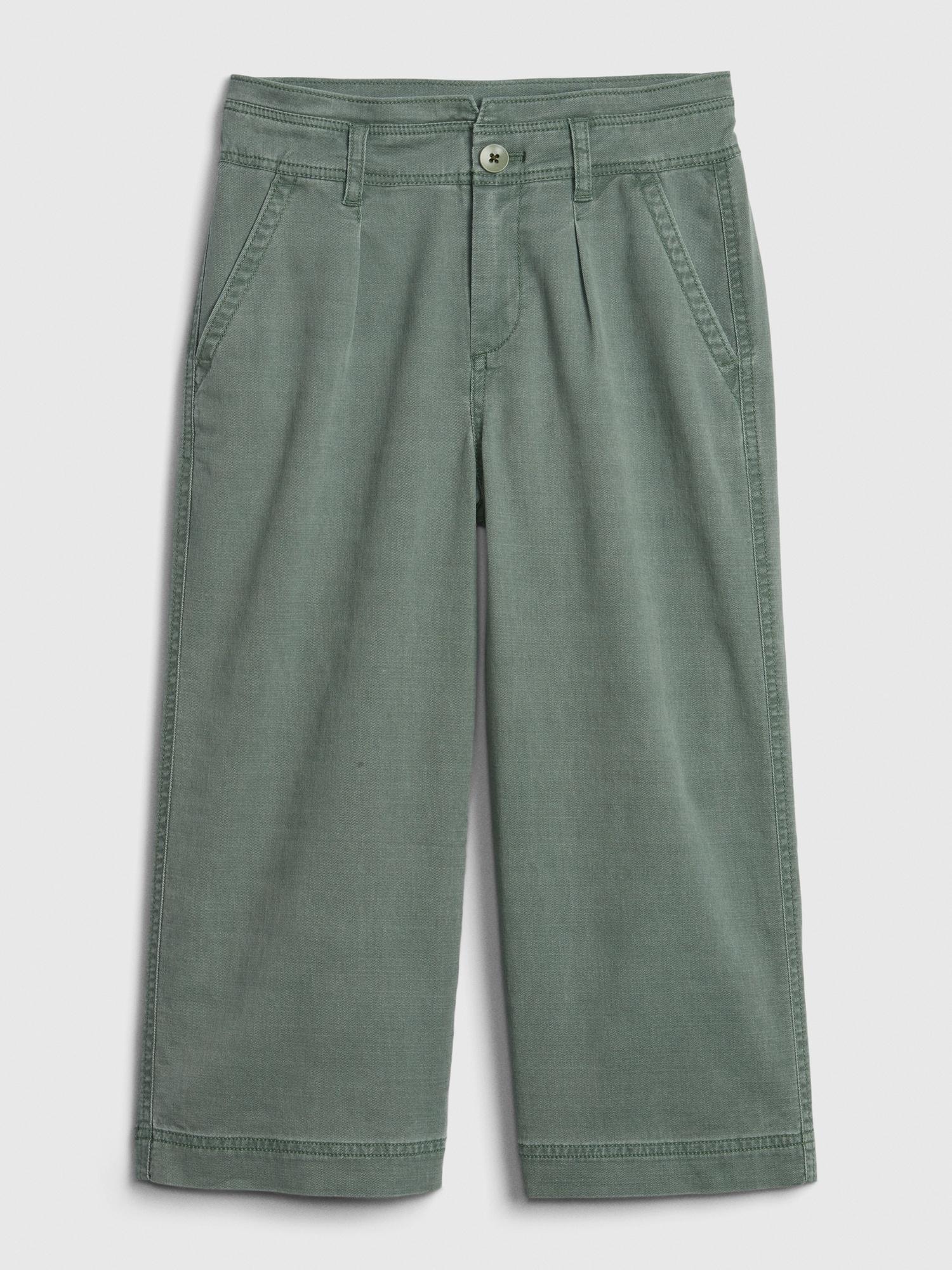 Kids Tencel 153 Wide Leg Pants Gap