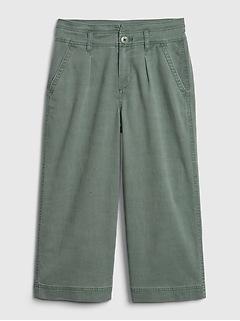 Kids TENCEL™ Wide-Leg Pants