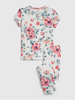 Kids Floral PJ Set