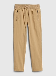 Kids Hybrid Pull-On Pants with QuickDry